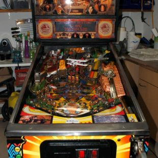 Williams Indiana Jones Flipper restauriert-Plug and Play