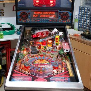 Flipper Williams The Getaway, High Speed 2, Plug & Play, Pinball, Retro, Vintage
